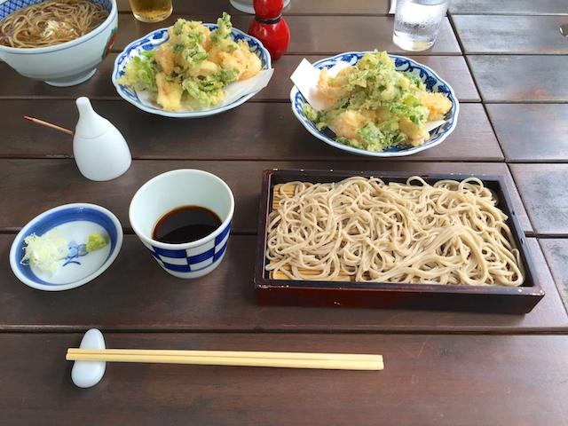 鎌倉 松原庵の蕎麦