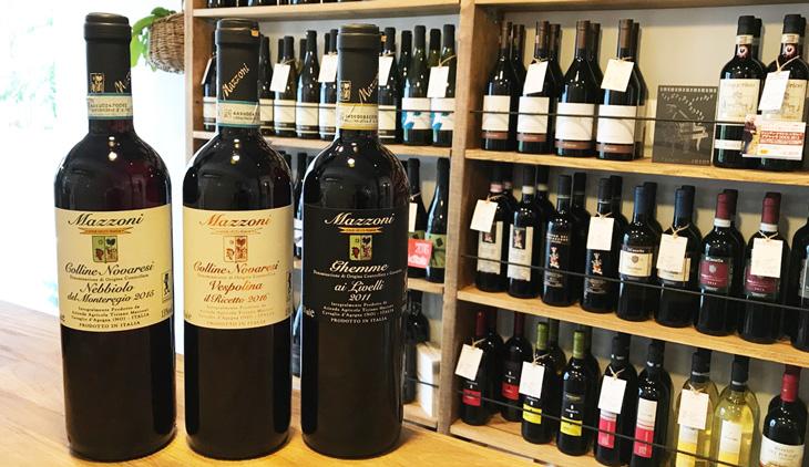 ピエモンテのワイナリー、マッツォーニのワイン