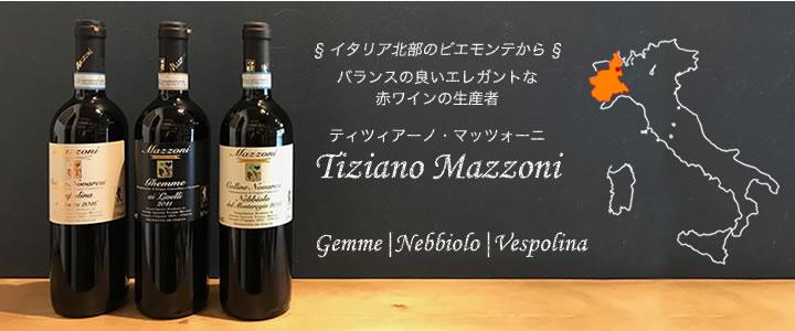 ピエモンテでネッビオーロとヴェスポリーナを中心に生産しているワイナリー、マッツォーニ