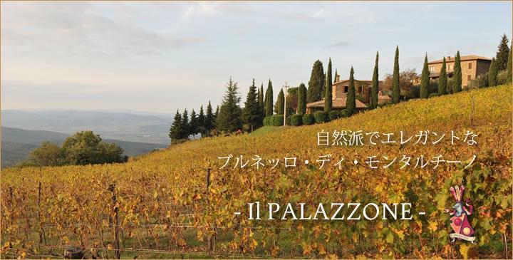 イタリア・トスカーナ州のモンタルチーノエリアに位置するワイナリー、イルパラッツォーネは、自然派で質の良いエレガントなブルネッロモンタルチーノを生産しています。