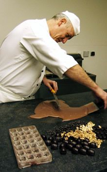 こだわりのチョコレート職人、デポラポール氏